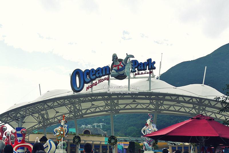 ✘遊 · 香港跨年自助行 · 海洋公園(上)✘