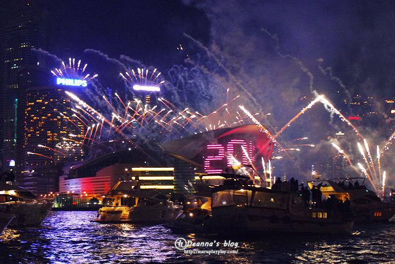 香港自助|跨年新年煙火秀
