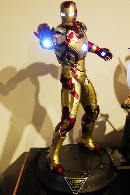 ✘物 ▪ HOT TOYS ▪ IRON MAN模型 ✘