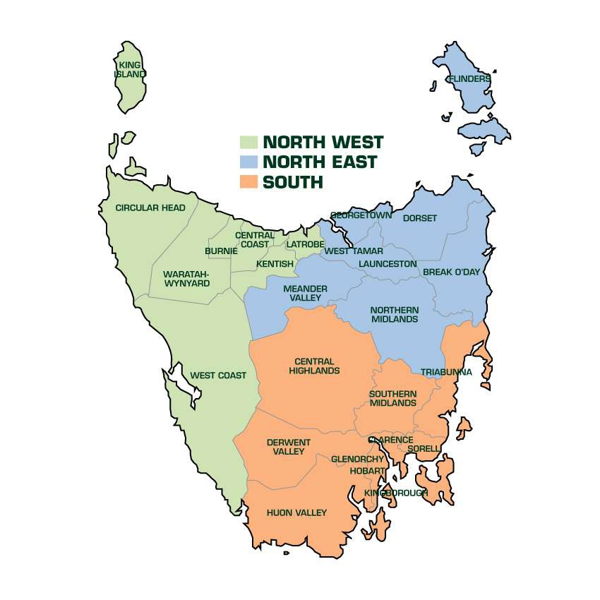 Regional Challenge Map