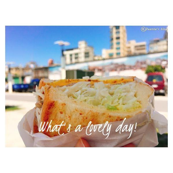 萬華 ‧ Moni日初 迷上板烤土司