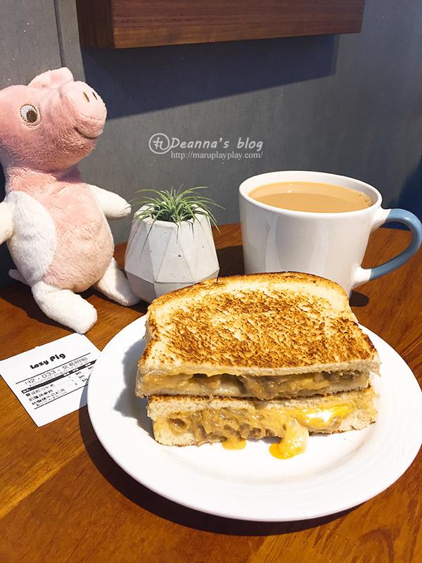 懶豬三明治