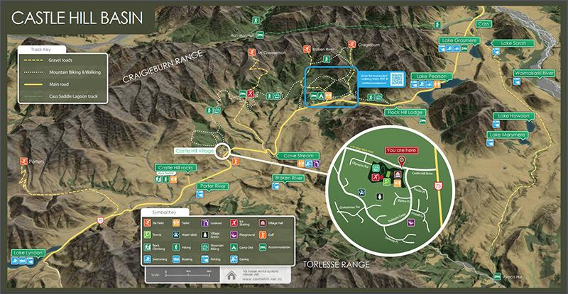 castlehill地圖