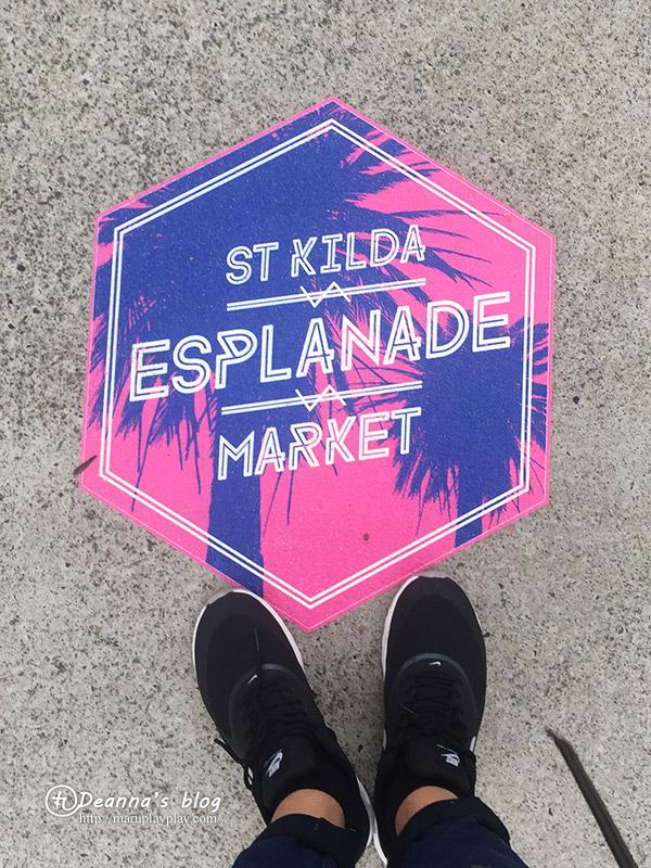 st kilda beach market