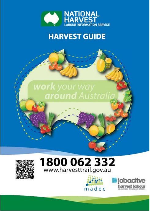 澳洲農業收穫指南