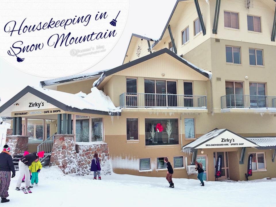 打工度假 ❅ Mt. Hotham ❅ 雪山工作