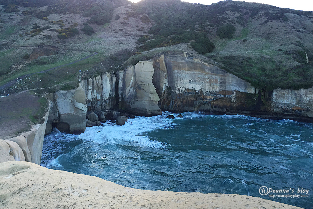 紐西蘭 tunnel beach