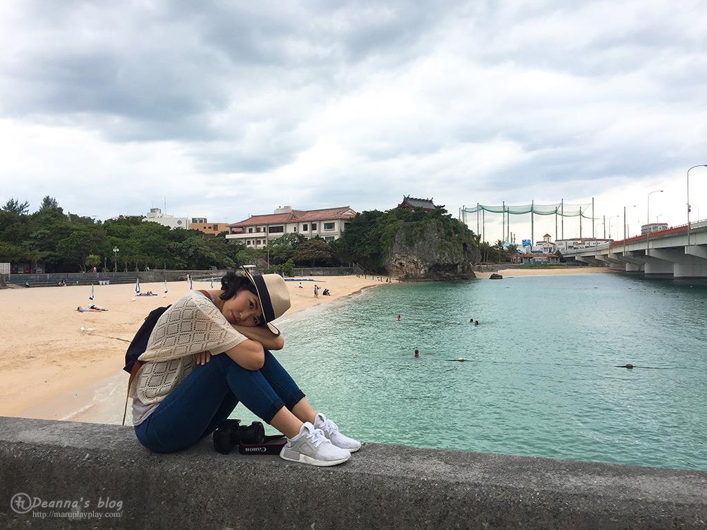 波上宮海灘