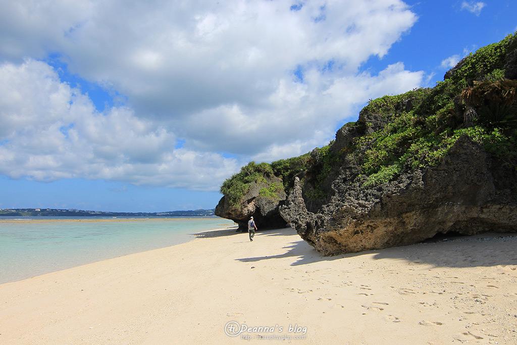 沖繩瀨底海灘