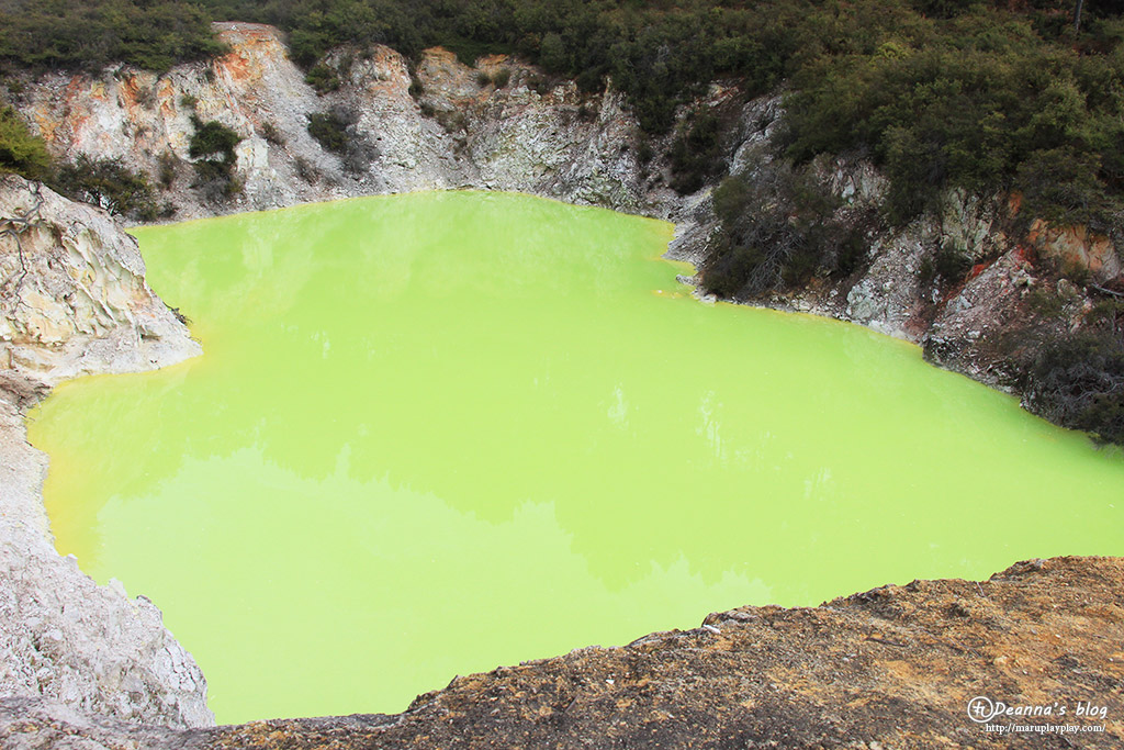 紐西蘭Wai o tapu地熱