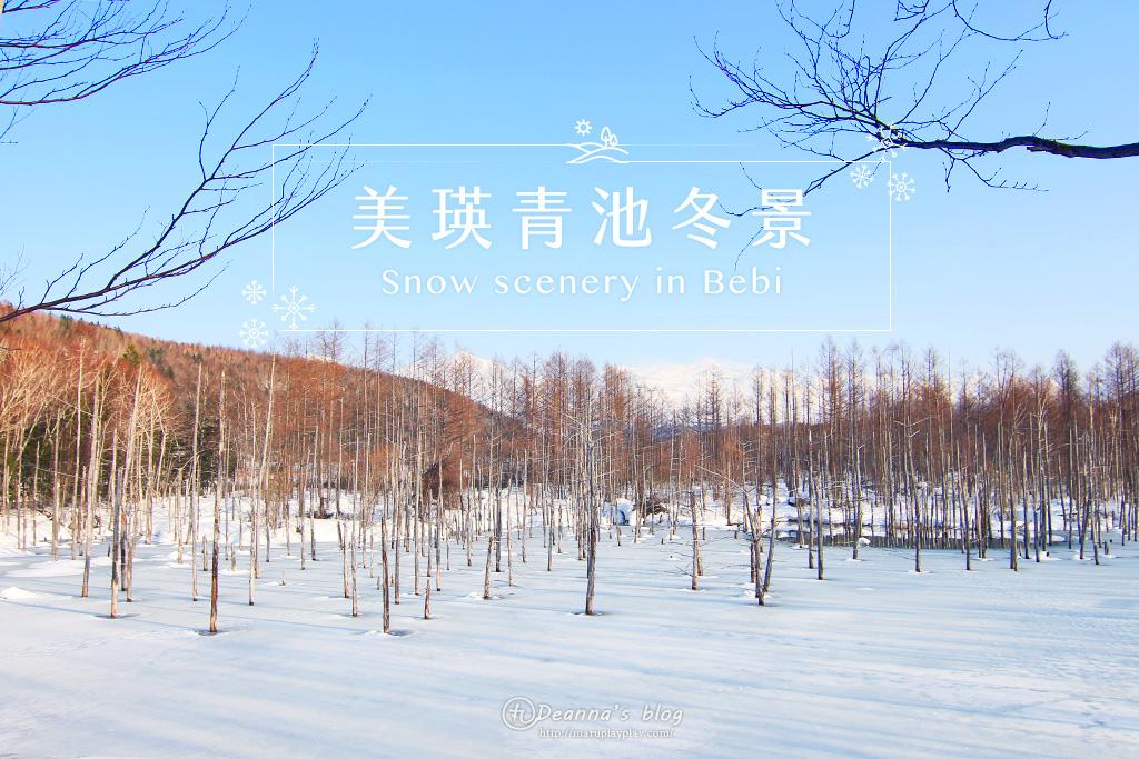 北海道美瑛|冰封青池和白鬚瀑布