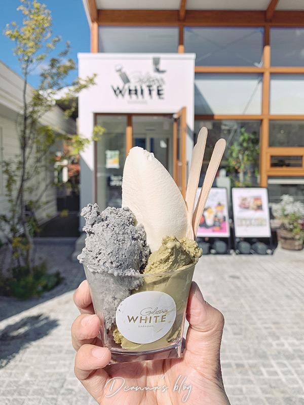 札幌冰淇淋Gelateria WHITE