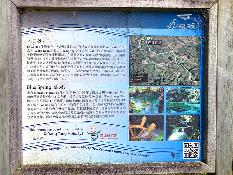 紐西蘭blue spring