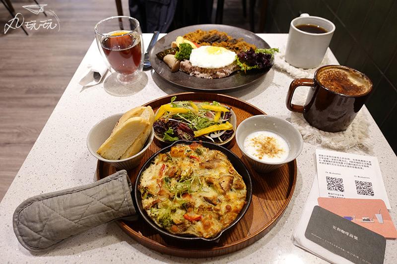 安和咖啡商號餐點