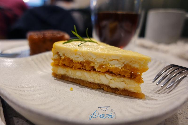 鹹蛋黃起士蛋糕