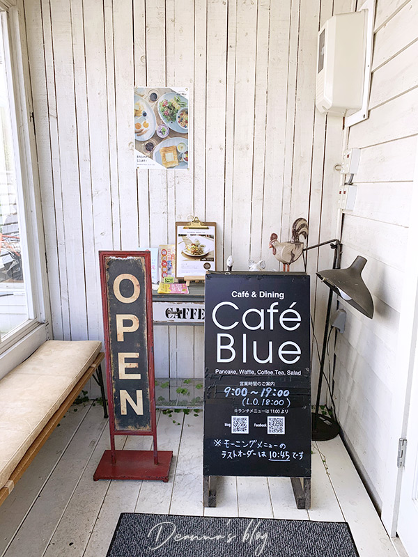 札幌鬆餅cafe blue