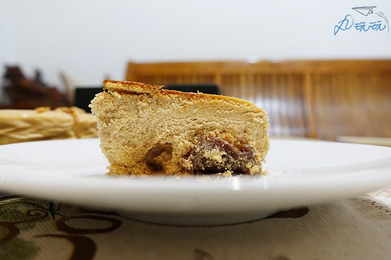 起士公爵黑糖桂圓乳酪蛋糕