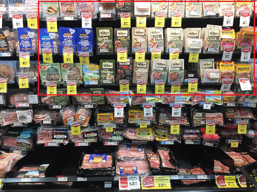紐西蘭超市火腿片