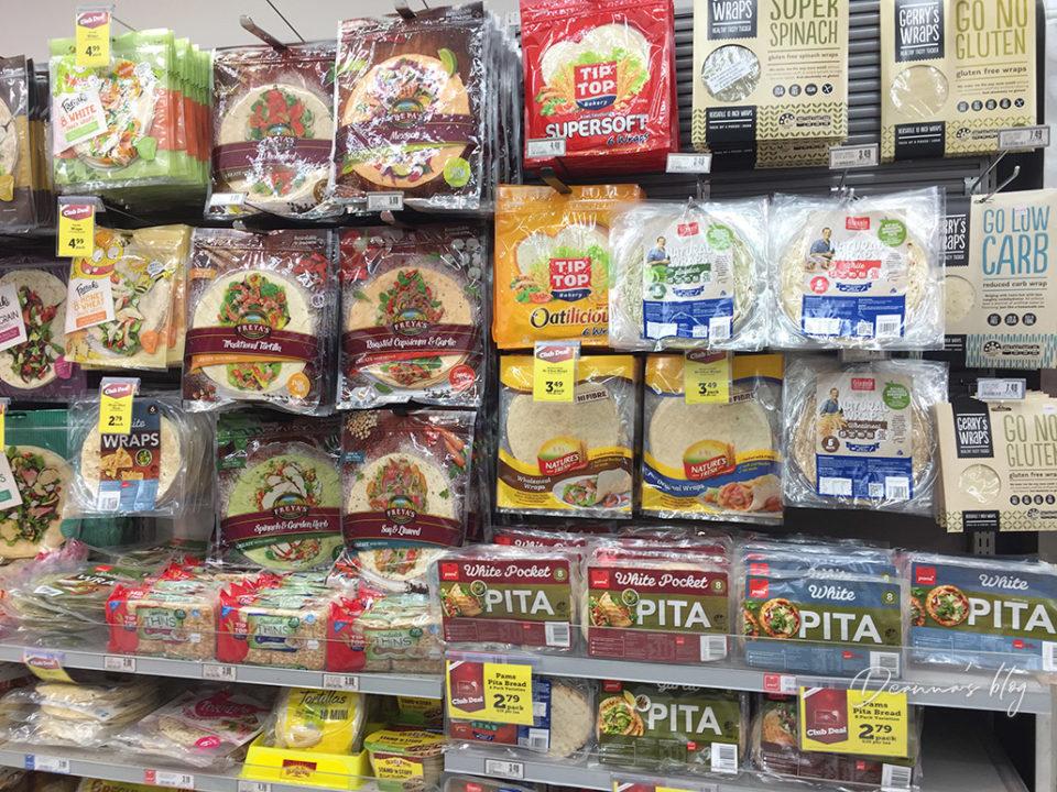 紐西蘭超市餅皮