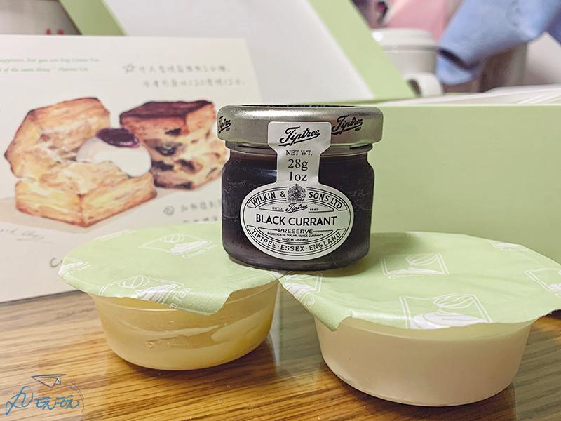 cream tea 果醬