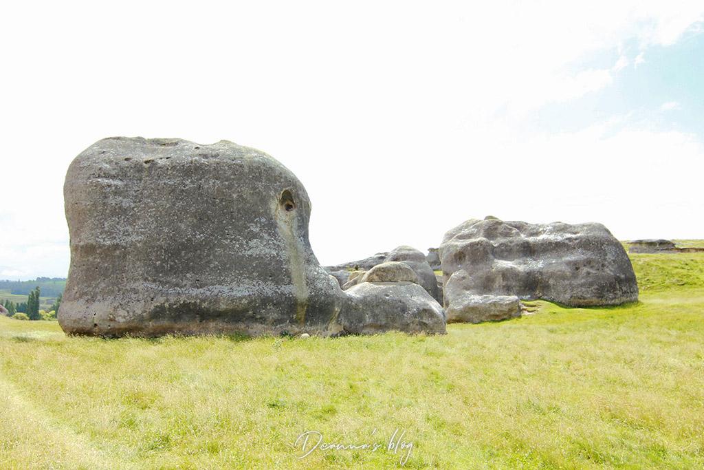 紐西蘭景點象石群