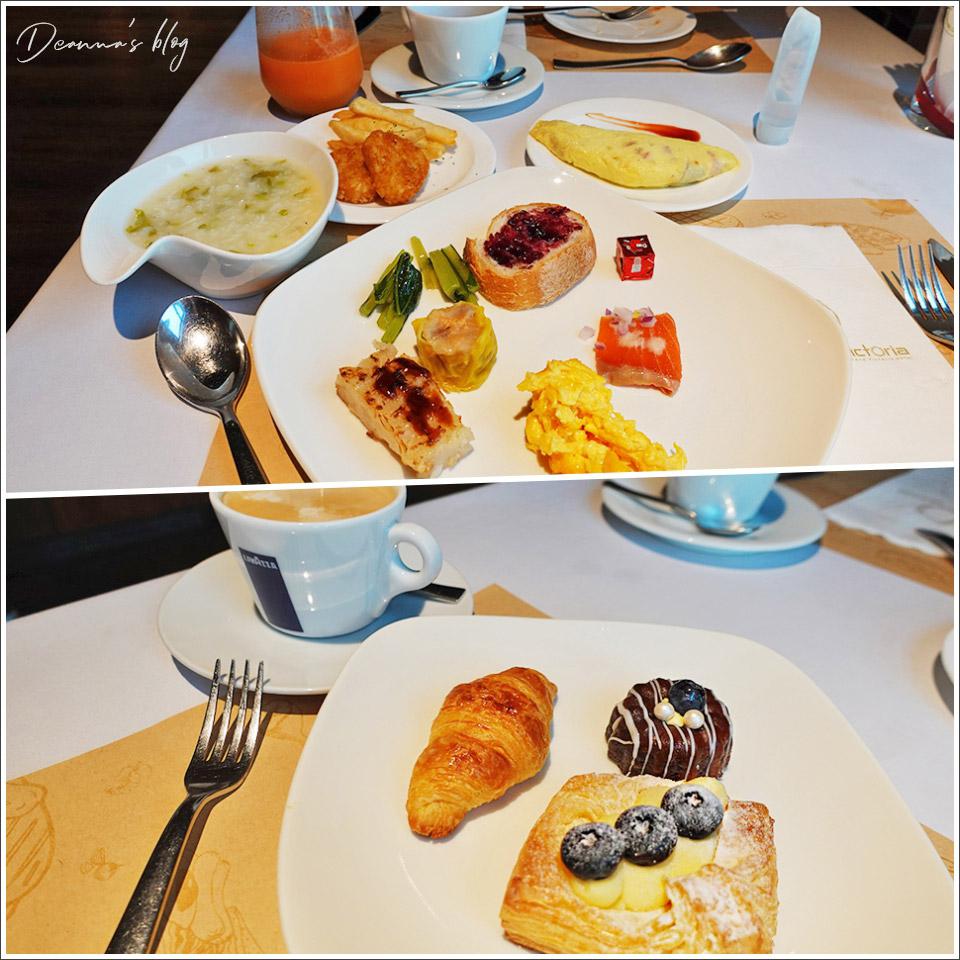 維多麗亞酒店自助早餐