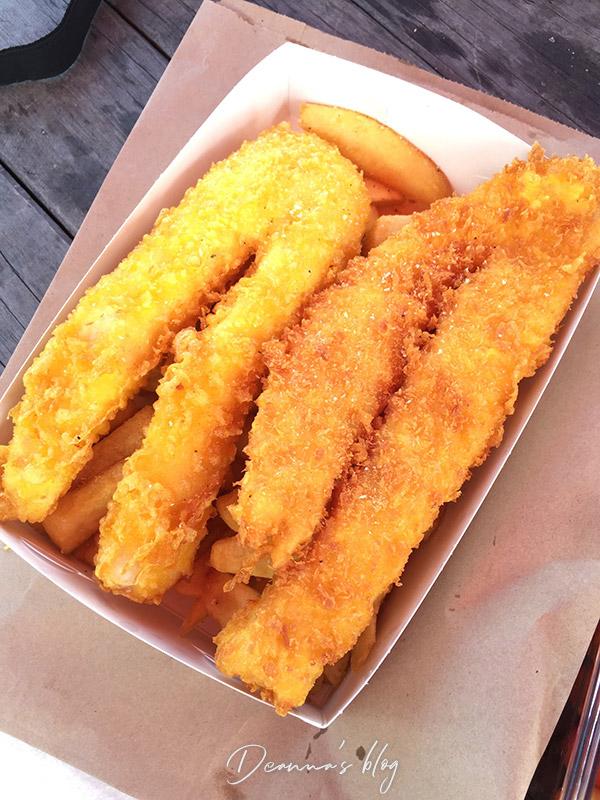 紐西蘭炸魚薯條
