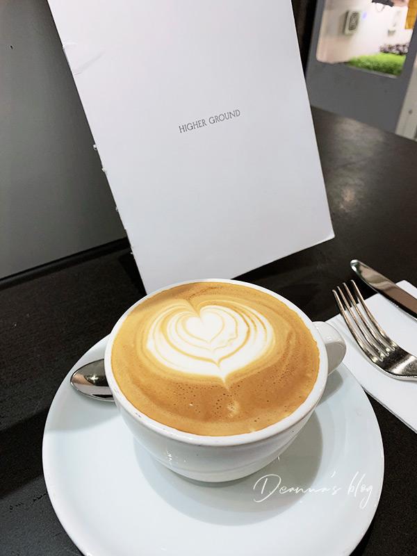 墨爾本咖啡higher ground