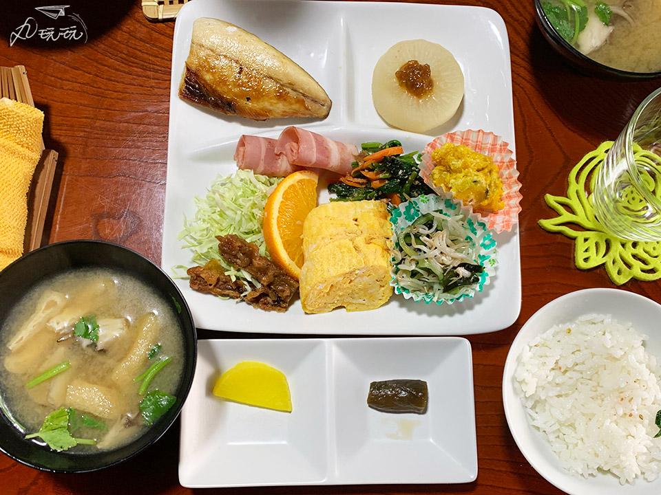 田澤湖農家民宿早餐