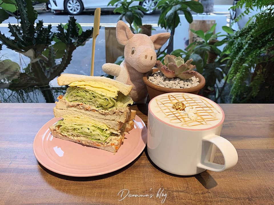 板橋懶豬三明治