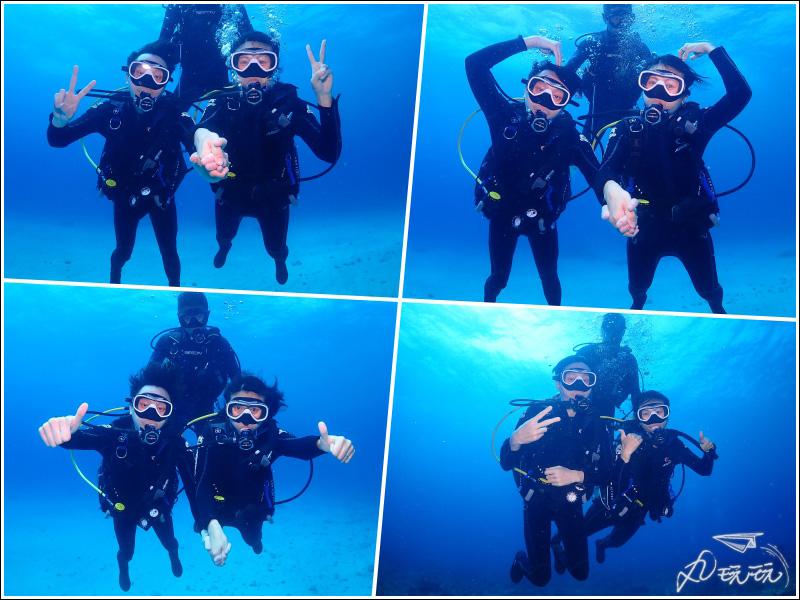 小琉球潛雪體驗潛水
