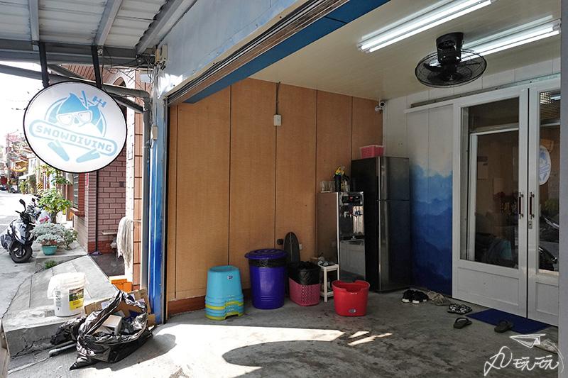 小琉球潛雪背包客棧