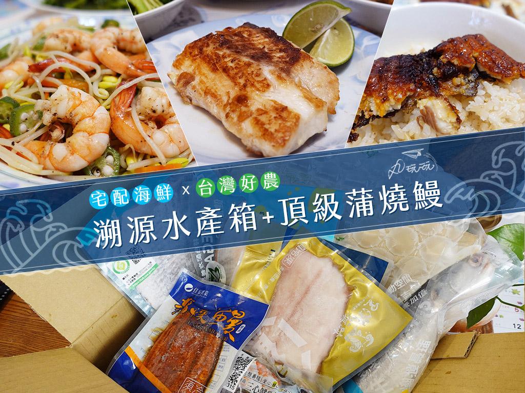 宅配海鮮|台灣好農 溯源水產箱&蒲燒鰻,安心來源、新鮮保證